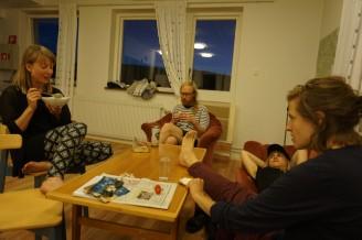 Mimmi Borselius, Michael Cederlund, Hanna Hernried Forslind och Elisabet Ericson.
