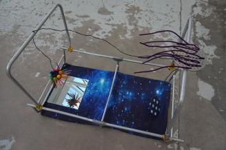 Olga Gniadys verk: Kosmos födelse.